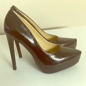 Kelsi Dagger black womens high heels size 8